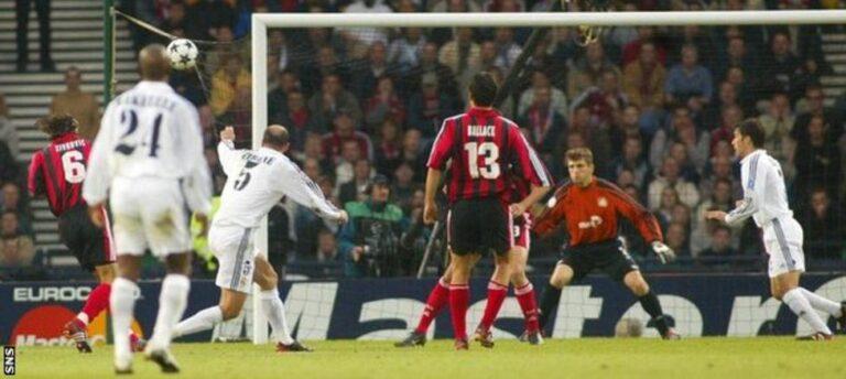 Gol de Volea de Zinedine Zidane