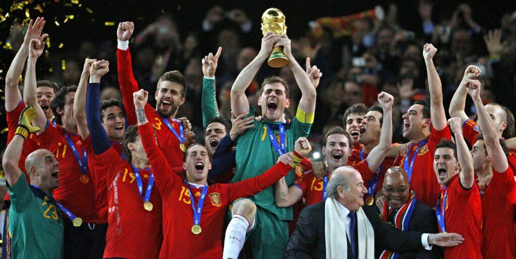 Copa Mundial 2010: España campeona