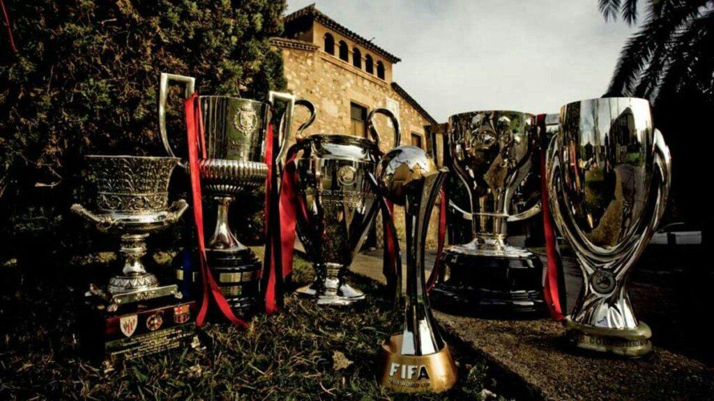 Títulos conseguidos por el F.C Barcelona del sextete